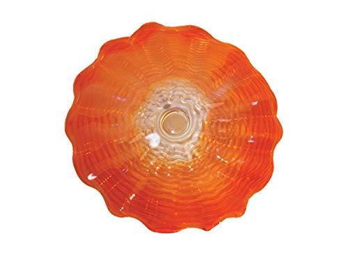 Dale Tiffany-Wand-Dekor, favrile Kunst, Glas, Rot/Orange/Gelb - Tiffany-glas-vase