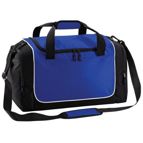 Quadra - Borsone in Tela 30 Litri Blu reale/Nero/Bianco