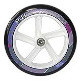 PU-Rolle Hudora Big Wheel per Stück 205 mm Ø weiß/lila f.Mod.14748 (1 Stück)