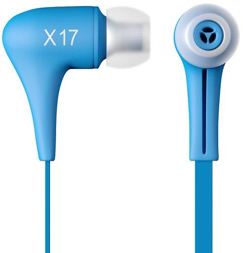 Stereo In-Ear Headset Kopfhörer Blau Samsung GALAXY Trend Lite GT-S7390 Original q1