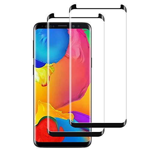 IRROT Vetro Temperato per Samsung Galaxy S9, [2-Pack] Pellicola Protettiva per Samsung S9, Senza Bolle, HD Chiaro, [9H Durezza, Anti-Graffio]