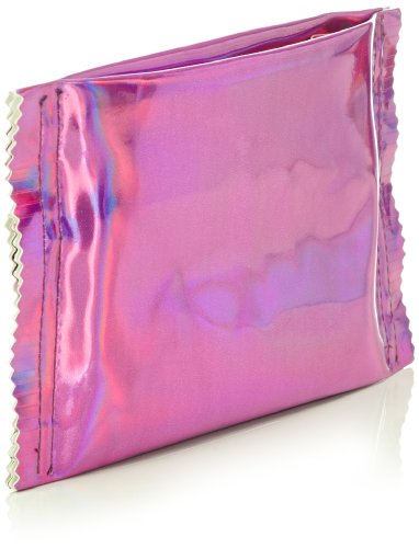 Nat-2 Candy Bag Damen Clutches 20x11x1 cm (B x H x T) Pink (Pink)