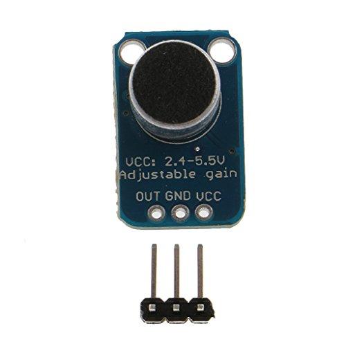 Breakout-modul (MagiDeal Elektret-Mikrofonverstärker Max4466 Einstellbarer Verstärkung Breakout Modul)