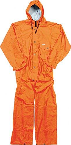 Ocean Rainwear Regenoverall Modell Budget, Größe:L, Farbe:orange leuchtend