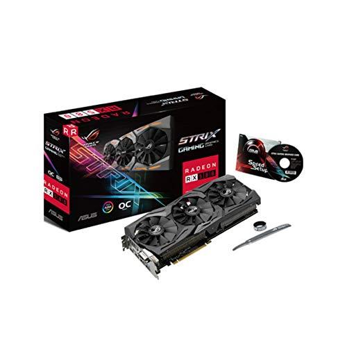 Hauggen1 ASUS AMD Radeon 8 GB GDDR5 DVI 2HDMI 2DisplayPort PCI-Express-Grafikkarte Modell Strix RX 580 OC Gaming