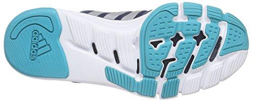 adidas Damen Adipure 360.3W Laufschuhe, Schwarz Blau / Versilbert / Grün (Azumin / Plamat / Verimp)