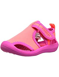 OshKosh B'Gosh Aquatic Girl's And Boy's Water Shoe, Pink/Coral, 9 M US Toddler
