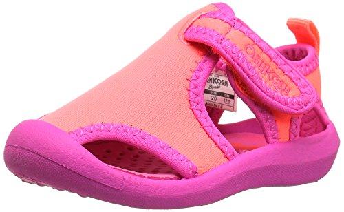 oshkosh-bgosh-girls-aquatic-water-shoe-pink-coral-pattern-10-m-us-toddler