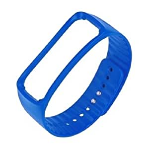 Samsung ETSR350BLEGWW Bracelet d'origine pour Samsung Galaxy Gear Fit Bleu
