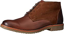 United Colors of Benetton Mens Tan Leather Boots - 9 UK/India (43 EU)