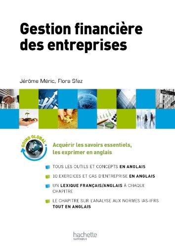 Gestion financière des entreprises par Jérôme Méric