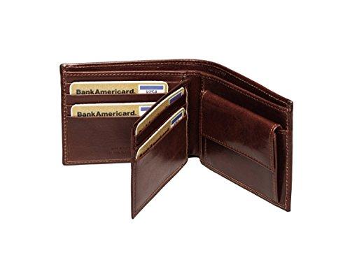 2c0b076d00e0 Ferdinand SABAC handgefertigte Leder Geldbörse Portemonnaie ...
