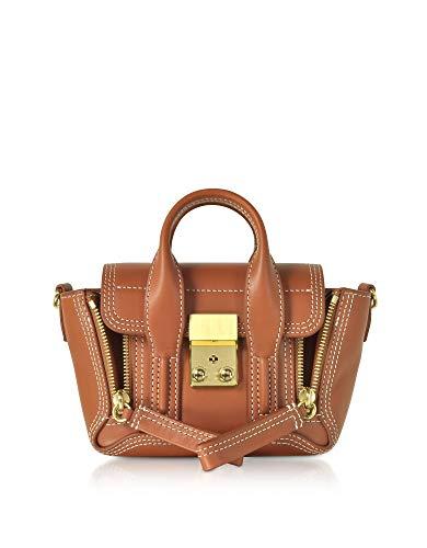 Phillip Lim 3.1 Damen Ae19b123nblcognac Braun Leder Handtaschen