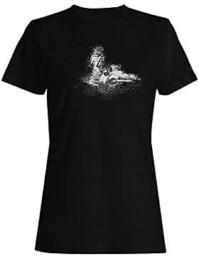 Baloncesto-Atletas camiseta de las mujeres m892f