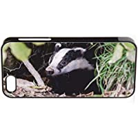 Badger iPhone 5/5S nero con clip di immagine # 2