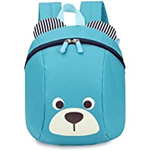 Ultra ligero para bebé mochila niños mochila niños mochila con arneses de seguridad Riendas belt-bear