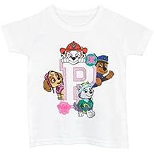 Paw Patrol- Camiseta para niñas - La Patrulla Canina