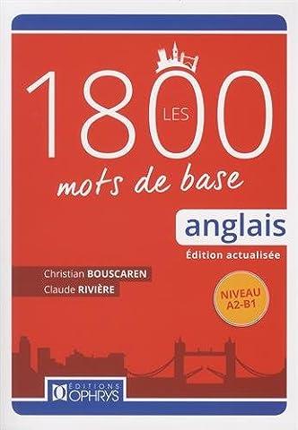 Ophrys Anglais - Les 1800 mots de base