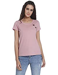 5e92d9a2623 Pink Women's Tshirts: Buy Pink Women's Tshirts online at best prices ...