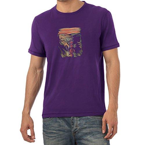 TEXLAB - Pool Scream - Herren T-Shirt Violett