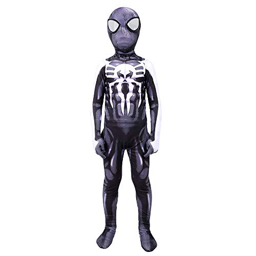 Hope Schwarz Venom Spider-Man Kostüm Erwachsene Kinder Cosplay Outfit Halloween Kleidung Zentai Body Movie Party Kostüm,Child-XL