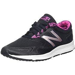 New Balance Flash V2, Zapatillas de Running para Mujer, Negro (Black/Pink), 37 EU