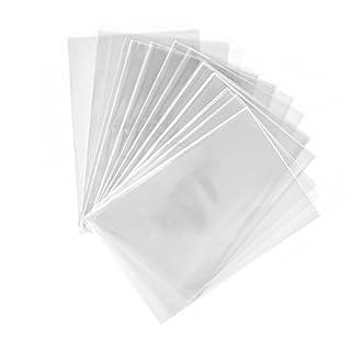 200 Stück Klar OPP Cellophantüten 10 x 15 cm Zellglasbeutel, Plastiktüten, Flachbeutel, transparent, Taschen, Cellophantüte, Cellophan Tüten klein, Aufmerksamkeit, Geschenk Plätzchen Süßigkeiten