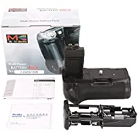 Meike Impugnatura Batteria Verticale per Canon EOS Rebel T2i/550d, Rebel T3i/600d, Rebel T4i/650d, Rebel T5i/700d BG-E8