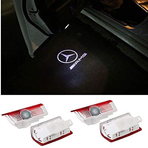 For special A4 ZTMYZFSL 2 Pcs Car Logo Projection LED Projecteur Porte Fant/ôme Ombre Lumi/ère Lampe pour la lumi/ère de bienvenue