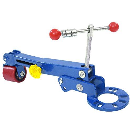 COSTWAY Bördelgerät Profibördelgerät Bördelrolle Fenderroller Bördelwerkzeug für Kotflügel Pkw Kfz