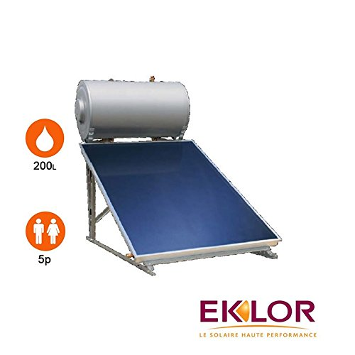 Durchlauferhitzer Solar 1Sensor + Ballon 200Liter–eklor