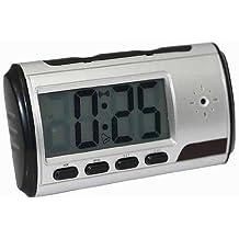 Cámara espía oculta CCTV CAM en un reloj despertador digital con Control Remoto