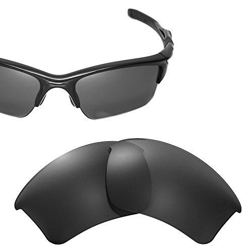 Cofery Ersatzgläser für Oakley Half Jacket 2.0 XL Sonnenbrille - mehrere Optionen erhältlich, Unisex, Black - Non-Polarized, Einheitsgröße