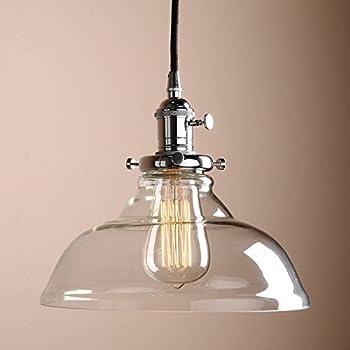 lighting shade. glighone vintage glass pendant light ceiling lamp shade industrial kitchen lights silver lighting fixture for loft bedroom office