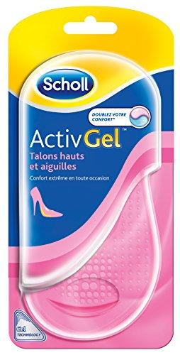 Scholl - Plantillas ActivGel tacones altas/tacón de aguja