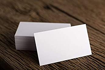 Business cards buy business cards online at best prices in india blank visiting card paper 100 pcs reheart Image collections