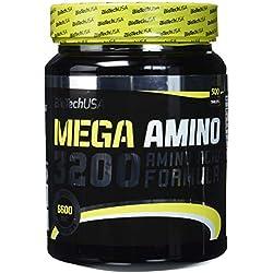 Biotech USA Mega Amino 3200 500 Tabletten, 1er Pack (1 x 925 g)