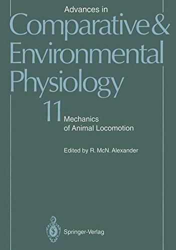 Mechanics of Animal Locomotion (Advances in Comparative and Environmental Physiology) (Fliegen Jordan)