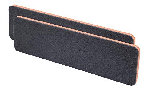 Preisvergleich Produktbild hr-imotion 12111301 Garagen - Türkantenschutz Set (2 Stk je 1,5 x 11,5 x 44 cm) [Selbstklebend | einfachste Montage langelebig]