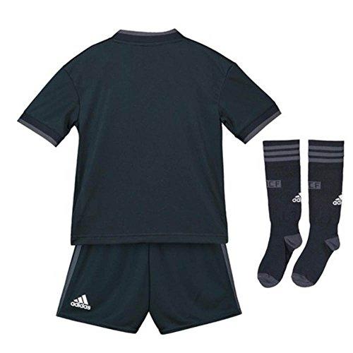 adidas Kid s Real Madrid Away Mini Kit  Tech Bold Onix White  116