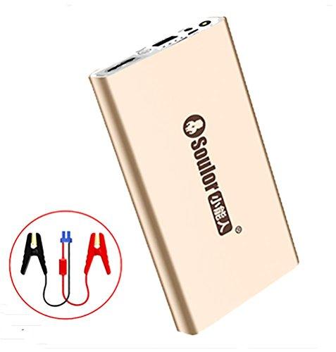 Preisvergleich Produktbild QINUO 20000mAh Tragbare Auto Starthilfe, 900A Peak Portable Laptop Power Bank Batterie Booster