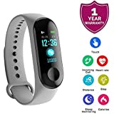 Zaptin M3 Intelligence Bluetooth Health Wrist Smart Band Watch Monitor/Smart Bracelet/Health Bracelet/Smart Watch for Mens/Activity Tracke/Bracelet Watch for Men/Smart Fitness Band