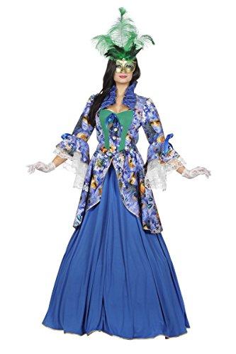 Damen Kostüm Karneval in Venedig Barock Lady Gr.44 (Karneval In Venedig Kostüme)