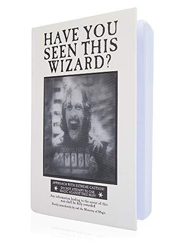 Wow! Stuff Collection Harry Potter Prisoner of Azkaban Video - Cuaderno lenticular