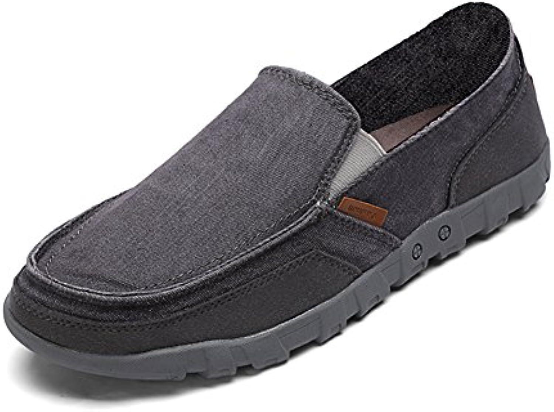 alte Leinwand/Weiche Anti Rutsch Größe Schuhe für ältere Menschen/Zu Fuß Schuhe/Casual Schuhe/Vater Schuhe