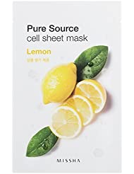 MISSHA Pure Source Cell Sheet Mask (Lemon), 1er Pack