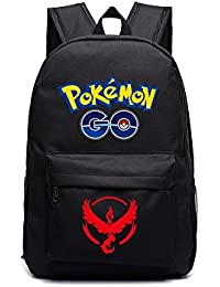 Pokeomon Go Backpack Team Valor (Black)