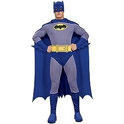 Rubbies - Disfraz de Batman para hombre, talla L (889053L)