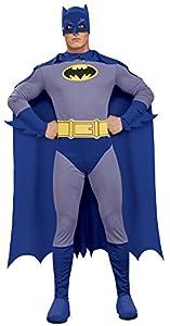 Rubbies - Disfraz de Batman para hombre, talla M (889053M)