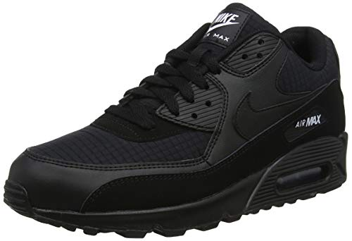 super popular 81ef8 23a26 Nike Herren Men s Air Max  90 Essential Shoe Gymnastikschuhe Mehrfarbig  (Black White 019) 45 EU